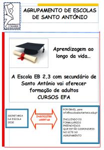 Cursos de Educação e Formação para adultos