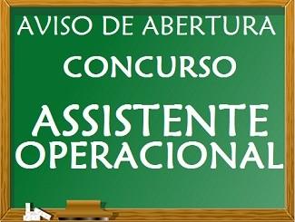 Procedimento Concursal – Assistente Operacional