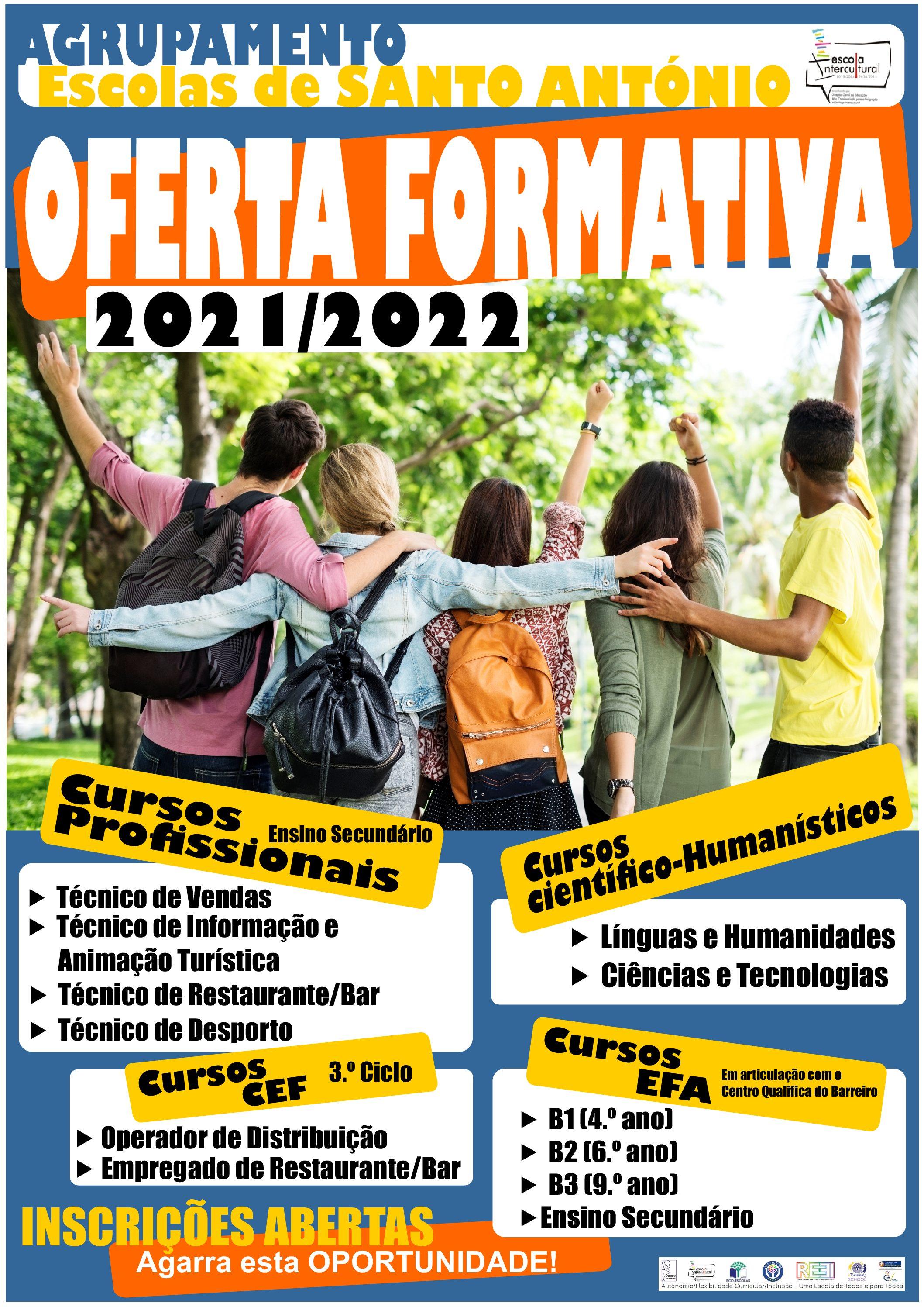 Oferta Formativa 2021/22